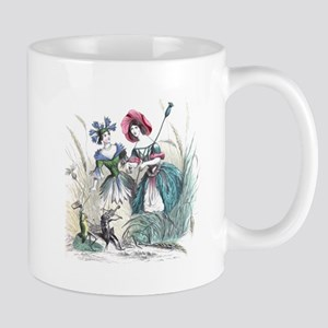 Cornflower and Bluebonnet Mug