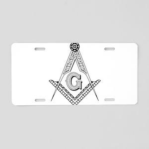 g compass Aluminum License Plate