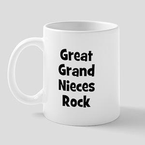 Great Grand Nieces Rock Mug