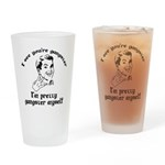 I See You're Gangster Drinking Glass