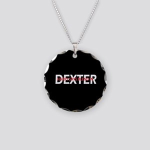 Dexter Harry says blend in. Necklace Circle Charm