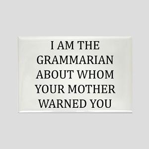 I Grammarian Rectangle Magnet