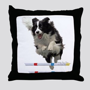 Bounce Jump Throw Pillow