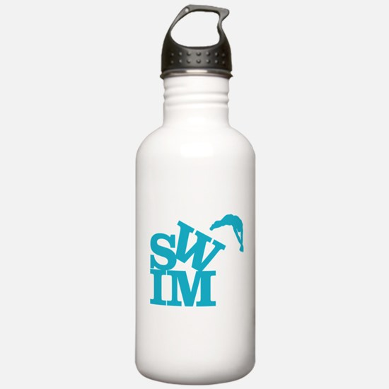 Unique Swim team Water Bottle
