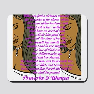 Proverbs 31 Women Mousepad