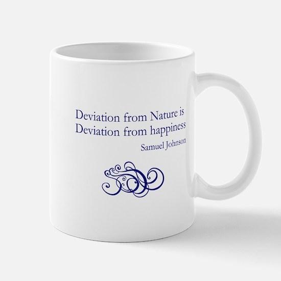 Deviation from Nature Mug