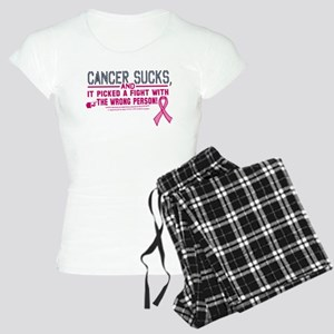 Cancer Sucks Women's Light Pajamas