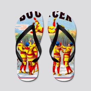 Bouncer Cigar Label Flip Flops