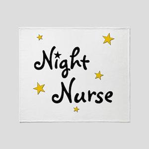 Night Nurse Throw Blanket