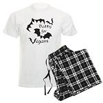 Batty for Vegans Men's Light Pajamas