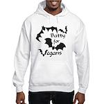 Batty for Vegans Hooded Sweatshirt
