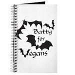 Batty for Vegans Journal