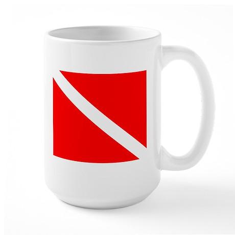 Large Dive Flag Mug