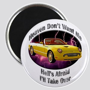 Ford Thunderbird 2.25 Inch Magnet (10 pack)