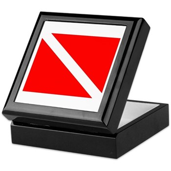 Scuba Dive Trip Memory Box