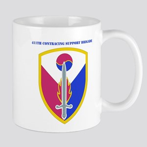 SSI - 411TH Support Bde with text Mug