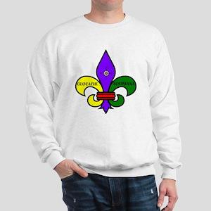 Geocache Louisiana Sweatshirt