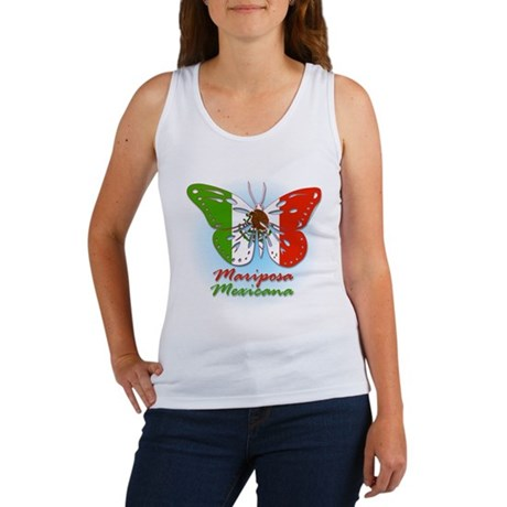 Mariposa Mexicana Women's Tank Top