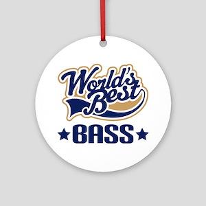 Bass (World's Best) Ornament (Round)