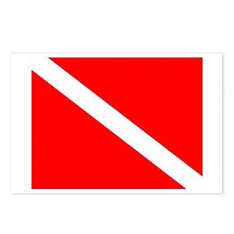 Dive Flag Postcards (8)