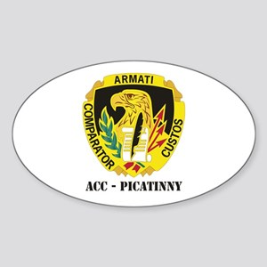 DUI-ACC - Picatinny WITH TEXT Sticker (Oval)