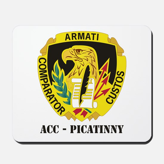 DUI-ACC - Picatinny WITH TEXT Mousepad