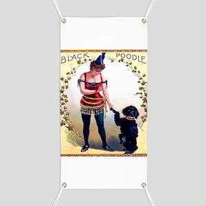Black Poodle Cigar Label Banner