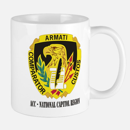 DUI-ACC - National Capitol Region WITH TEXT Mug