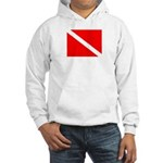 Hooded Dive Flag Sweatshirt