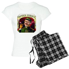 Captain Corker Cigar Label Pajamas