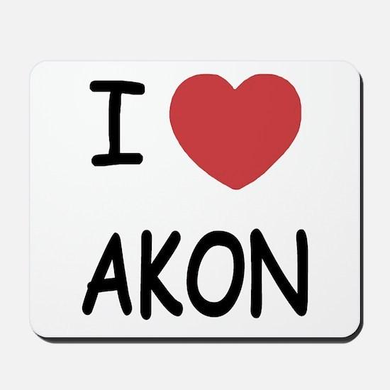 I heart Akon Mousepad