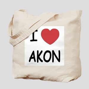 I heart Akon Tote Bag