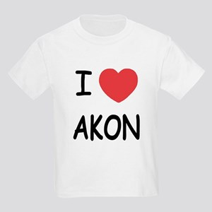 I heart Akon Kids Light T-Shirt