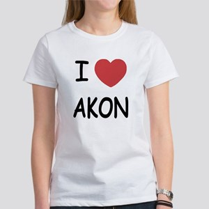 I heart Akon Women's T-Shirt