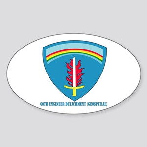 60th Engineer Detachment (Geospatial) with text St