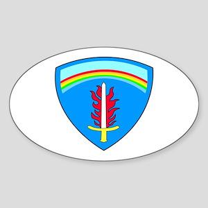 60th Engineer Detachment (Geospatial) Sticker (Ova