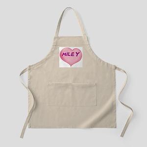 miley heart Apron
