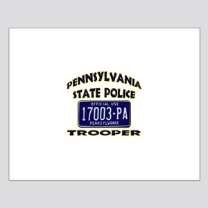 Pennsylvania State Police Small Poster