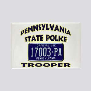 Pennsylvania State Police Rectangle Magnet
