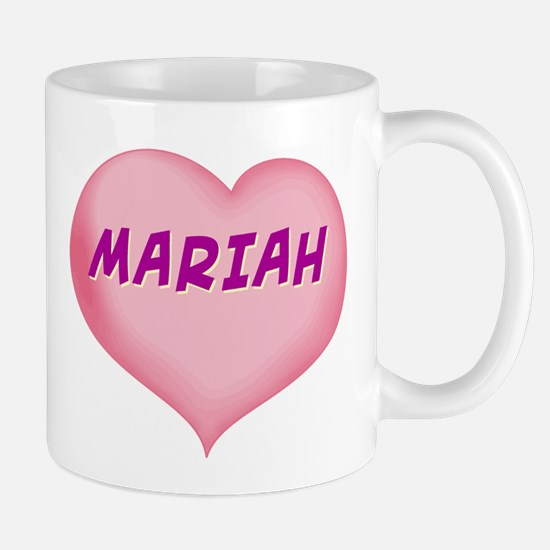 mariah heart Mug