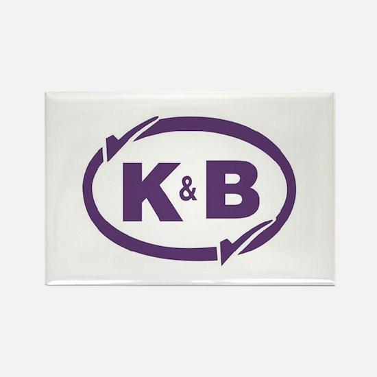 K&B Drugs Double Check Rectangle Magnet
