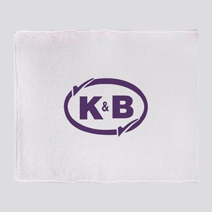 K&B Drugs Double Check Throw Blanket