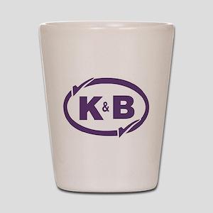 K&B Drugs Double Check Shot Glass