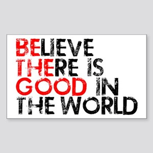 Be The Good In The World Sticker (Rectangle)
