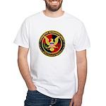 Counter Terrorist White T-Shirt