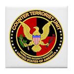 Counter Terrorist Tile Coaster
