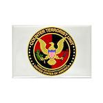 Counter Terrorist Rectangle Magnet (100 pack)