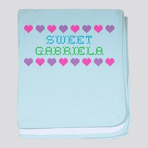 Sweet GABRIELA baby blanket