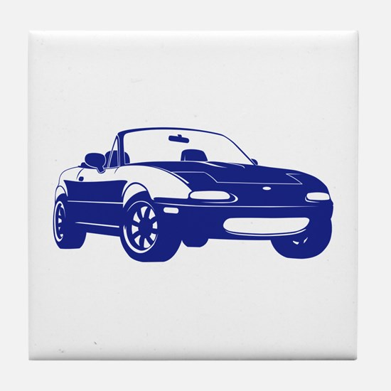 NA Blue Tile Coaster