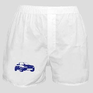 NA Blue Boxer Shorts